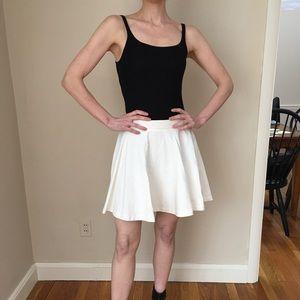 Alice + Olivia white skirt